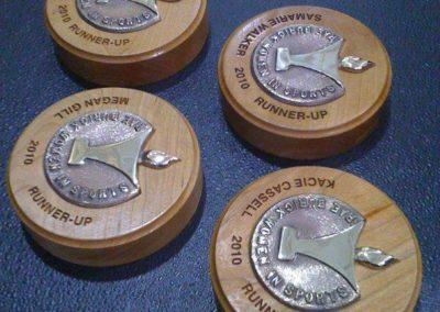 Rae Burick Women in Sports Trophies